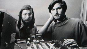 Steve Jobs e Steve Wozniak